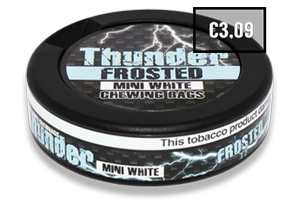 Thunder Frosted White Mini CB