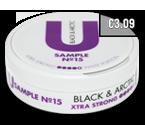 U sample Licorice White CB