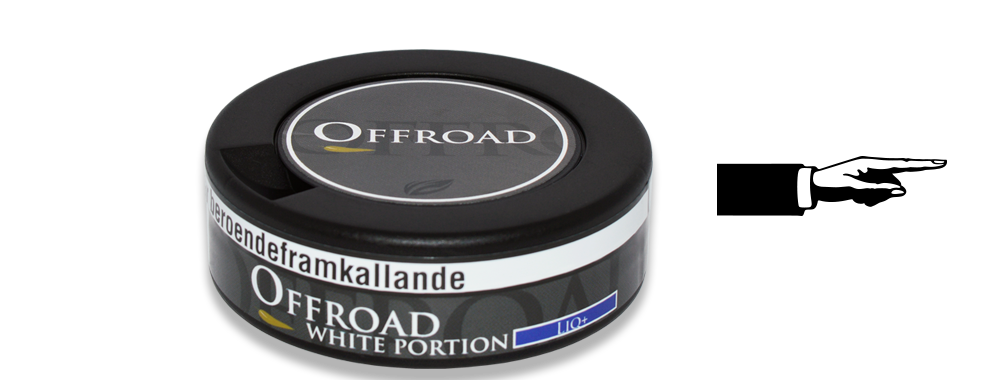 Offroad Licorice White Snus