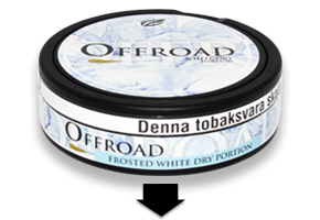 Offroad Frosted White Snus
