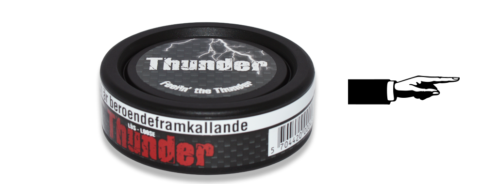 Thunder Original Loose Snus
