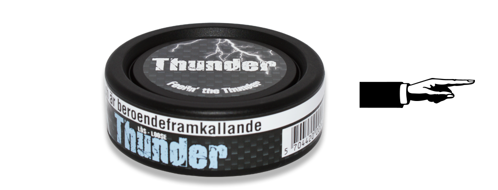 Thunder Frosted Loose Snus