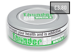 Thunder Slim Winter G White Dry CB