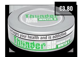 Thunder Slim Winter G White Dry CB
