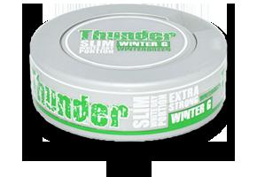 Thunder Winter G Slim Dry White Snus