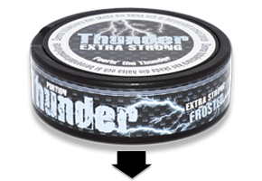 Thunder Frosted Portion Snus