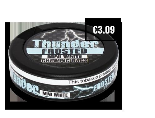 Thunder Frosted White Mini CB