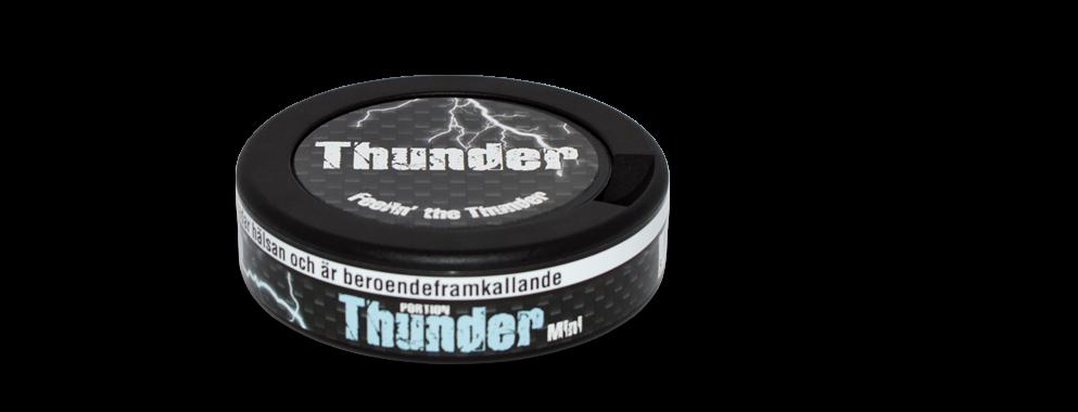 Thunder Frosted Mini Snus