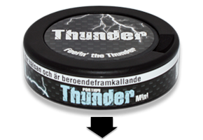 Thunder Frosted Mini Snus
