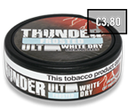 Thunder Ultra Frosted White Dry CB