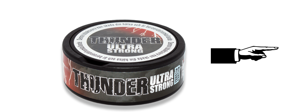 Thunder Ultra Frosted Portion Snus
