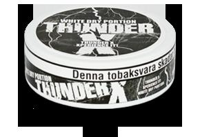 Thunder X White Dry Snus