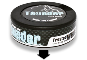 Thunder Frosted White Snus