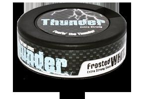 Thunder Frosted White Snus